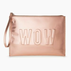 S&D rose gold wristlet